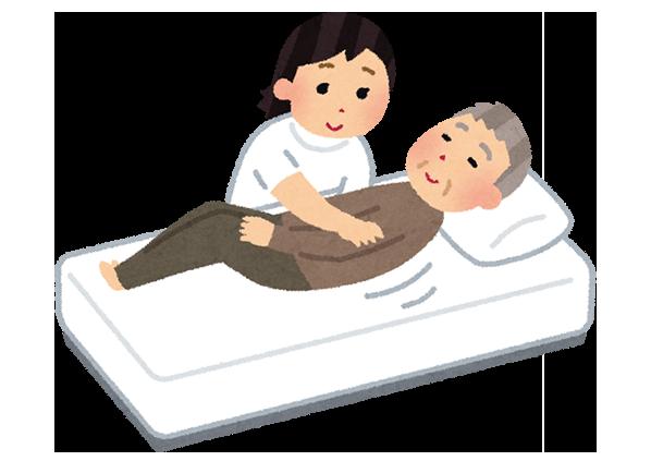 訪問医療マッサージの特徴のイメージ